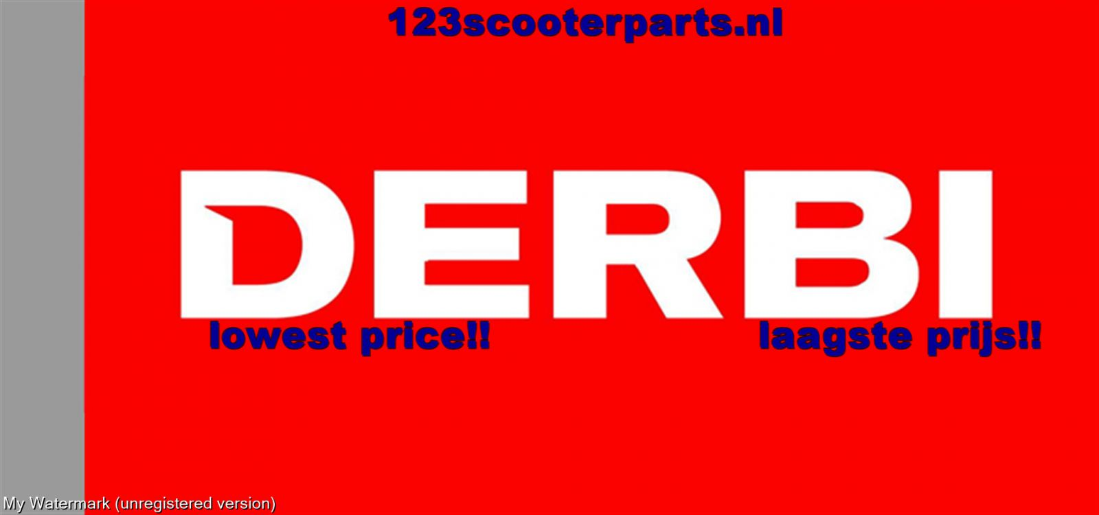 Derbi Hunter scooter onderdelen
