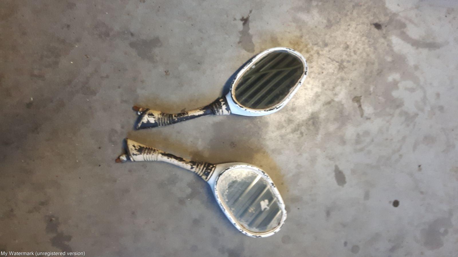 Universele Motor Spiegels : Universele spiegel set scooter onderdelen scooterparts