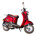 Benero city cruiser scooter onderdelen